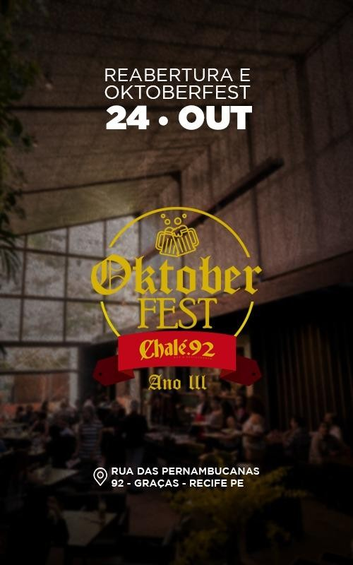Detalhes do curso Oktoberfest Ano III (2º LOTE)